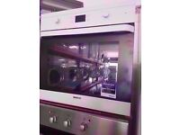 BEKO built in electric oven and grill , White in fully working condition