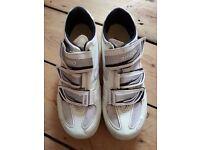 Womens Shimano road bike shoes size 6