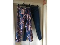 2 Pairs Size 10 Jeans & BNWT Leggings