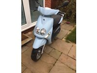 Yamaha Neos Moped. Fair condition, few scratches and could do with service. Rarely used