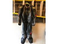 Motorbike 2 piece leathers