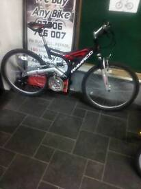 Good Condition Ammaco Depravity Dual Suspension Mountain Bike