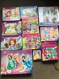 Girls puzzle bundle for sale