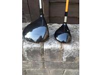 Nike VRS driver and Titliest 5 wood