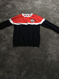 mens moncler jumper (only tested but small for me)