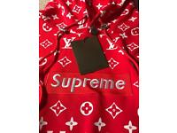 Supreme x Louis Vuitton Hoodie