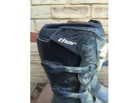 Motocross boots size 12
