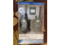 Midland G7 XT & 2 HM-100 Motorcycle Headsets
