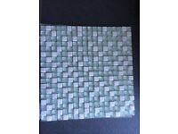 4, 30cmx30cm aqua marine/green mosaic tiles