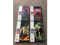 Black Science r Graphic Novels Vol.1-4