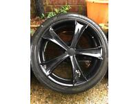 18 inch Universal-fit alloys - 5x114/100/120