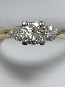 Bague or jaune 14k avec 90 points de diamants vsi a seulement 1399,95$ valeur de 4500$