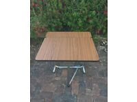 Fold Out Table. Good Condition.