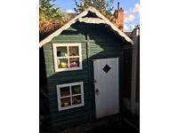 5 X 5 Outdoor Wooden Playhouse