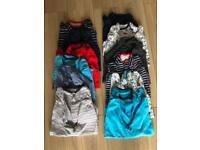 Boys 3-6 months sleepsuits