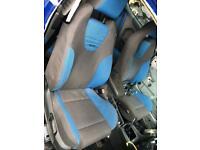 Ford Focus st225 seats recaro blue