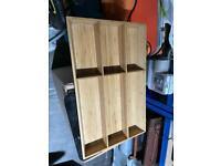 Bamboo IKEA cutlery tray Variera