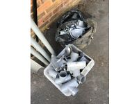 plastic guttering and fixings