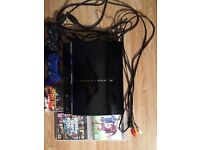 60GB PS3 Console With Two Controllers And Three Games