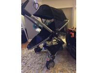 Quinny zapp xtra & pebble car seat fab set ultra compact