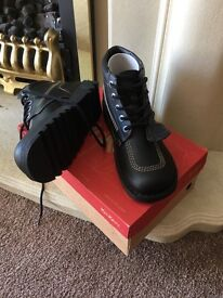 Brand New Leather Kicker boots size 8 £20