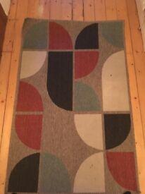 Retro Geo Rug from Next (100 x 150 cm)