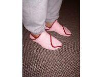 handmade socks slippers