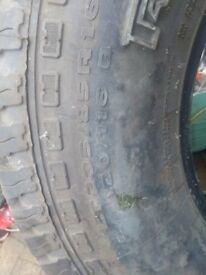 235 85 16 tyres with goode tread part worn in Greenford Area
