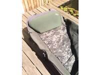 Nash indulgence airlite ss bedchair sleep system