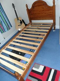 Single Pine Bed Frame.