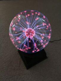 "Plasma Ball lamp - 6"" globe"
