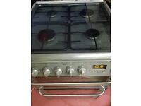 Hotpoint Ultima DOUBLE dual fual freestanding cooker Fully working . WAS £400. Clean. Delivery