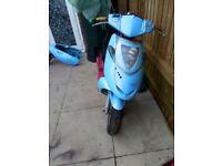 Aprilia sonic moped 50cc