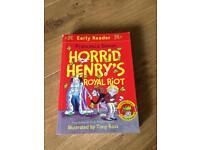 Horrid Henry early reader book
