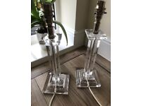 Laura Ashley lamp stands
