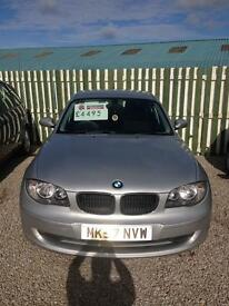 BMW 1 series 118 d Deal of the week price reduction of £500