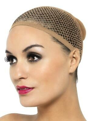 ELASTIC, STRETCHABLE, BREATHABLE, MESH NUDE WIG CAP HAIR NET FISHNET CAP