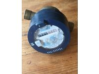 Water meter for koi pond