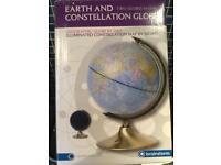 Earth & constellation globe