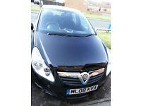 Vauxhall corsa Life 2008 low mileage 1.0 4 door hatchback