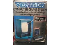 Retro Vectrex MB Console + Games