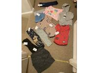 New baby girl 9-12 & 12-18 clothes bundle