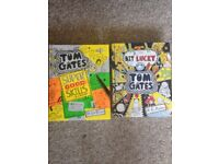 Tom gates books---A tiny bit lucky and super good skills