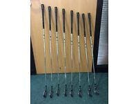 GOLF CLUBS- TAYLORMADE SPEEDBLADE IRONS 4-SW - ONLY TWO YEARS OLD, IN VERY GOOD CONDITION