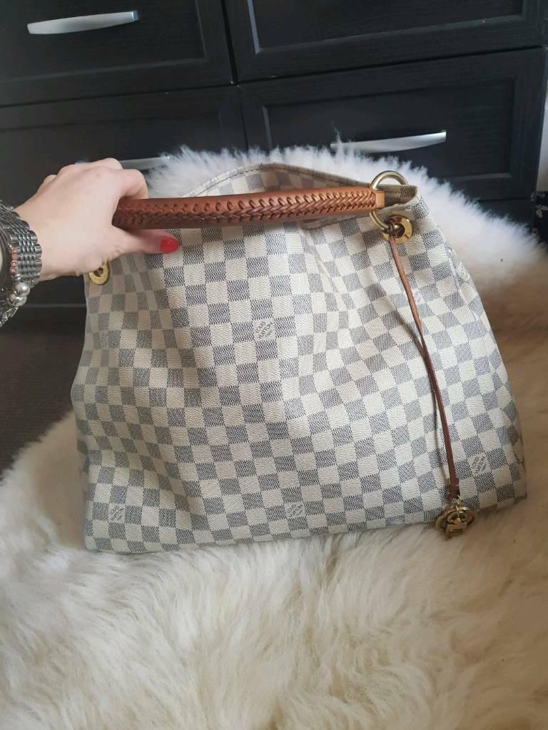 Louis Vuitton Artsy MM azur  c73a3027ddd1f