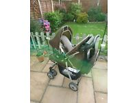 Hauk Winnie The Pooh Pushchair and Car Seat