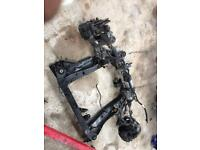 2014 Vauxhall Astra gtc front axel complete