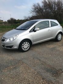 Vauxhall Corsa 1.2 Club (09) 21,800 miles only