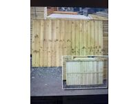 Fence Panels 6 x 4 ft, Feather Edge