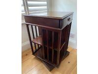 Vintage revolving bookcase
